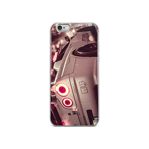 iPhone 6/6s Case Anti-Scratch Gamer Video Game Transparent Cases Cover Nissan Skyline GTR Gaming Computer Crystal Clear