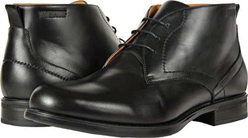 Florsheim Men's Midtown Waterproof Chukka Boot Black Smooth 9.5 D (Black Smooth Chukka)
