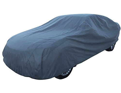 Dust Guard (Leader Accessories Basic Guard 3 Layer Dust UV Ray Resistant Universal Fit Outdoor use Car Cover Up To 264