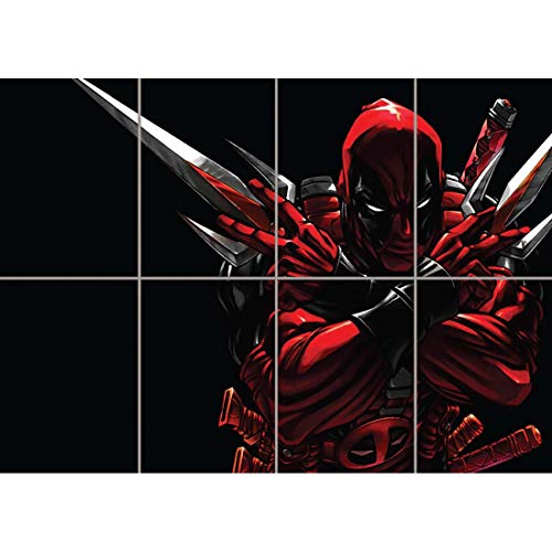 Doppelganger33 LTD Deadpool Giant Wall Art Print Poster B744 -
