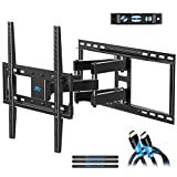Mounting Dream MD2380-24 TV Wall Mount Bracket with Full Motion Articulating Arms for Most 26-55'' LED, LCD, OLED and Plasma TVs up to VESA 400 x 400mm and 99 lbs. Fits 16'', 18'', 24'' Wood Studs