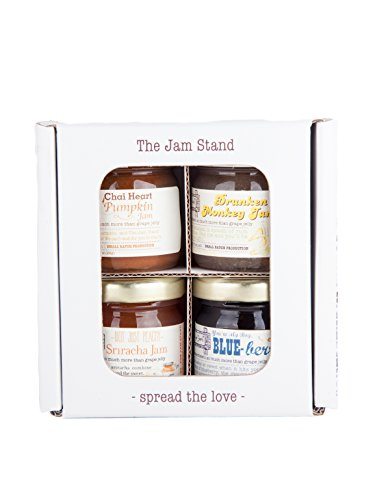 The Jam Stand, Mini 4-pack Sampler of Jam, 1.3oz (The Jam Stand compare prices)