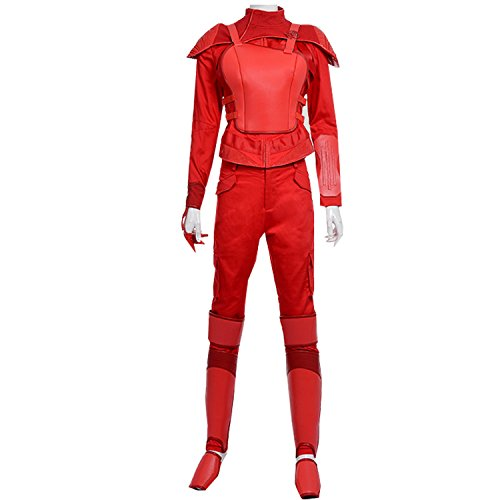 Womens Hunter Cosplay Red Costumes Custom Made Halloween