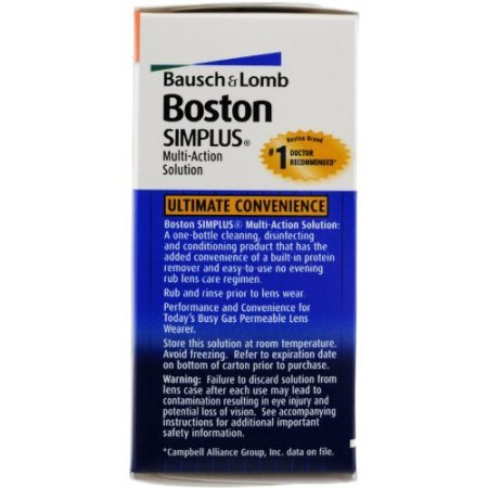 PACK OF 6 - Boston: Simplus Travel Kit Multi-Action Solution, 1 Fl Oz by Generic (Image #1)