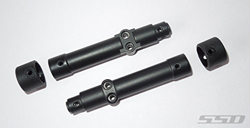 SSD RC Pro44 Metal Rear Axle Tubes for SCX10 II (Scx10 Axle Tubes)