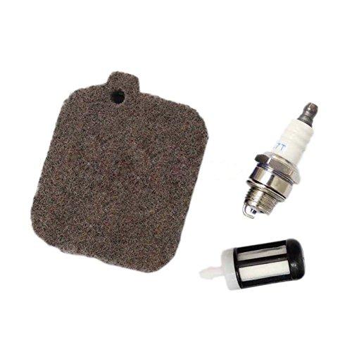 (Podoy BG55 Air Filter Tune Up Kit for Stihl BG46 BG45 BG65 BG85 BR45C SH55 SH85 Blower Spark Plug Fuel Filter Repower Kit)