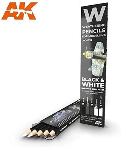 (AK10039) - AK Interactive Pencils Set - Black & White