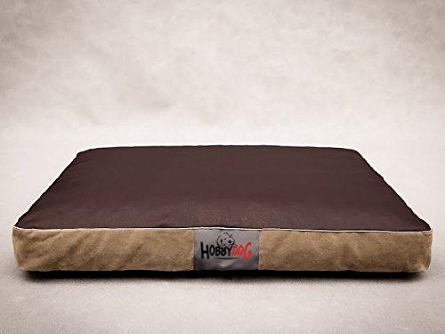Cama, colchón, almohada, colchoneta y sitio para dormir para perros MATFZB7 de HobbyDog (3 tamaños diferentes)