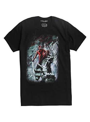 [Marvel Daredevil Character Bio T-Shirt] (Daredevil Costumes Marvel)