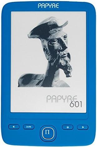 Papyre PE601A - Lector de eBooks, color azul: Amazon.es: Electrónica