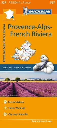 (Michelin Regional Maps: France: Provence-Alps-French Riviera Map 527)