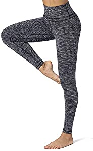 CLUCI High Waist Yoga Leggings for Women with Pockets Workout Pants Tummy Control Non-See Through 4 Way Stretc