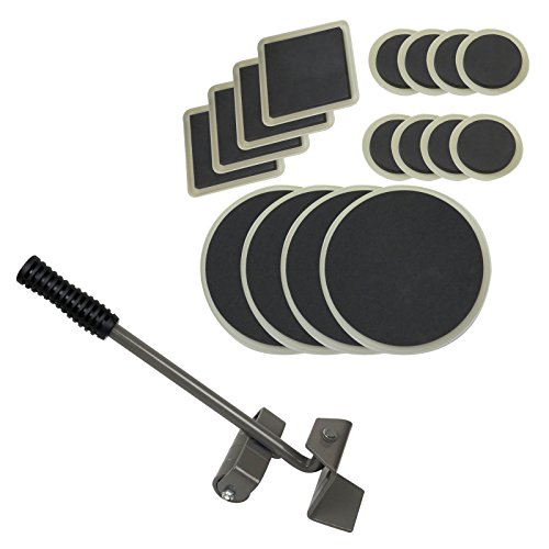 Generic YH-US3-160606-139 8yh3772yh Smooth Floor Pad Sliders t Smooth Fl Furniture Lifter Furniture Carpet over Pad with 16 Mover fter with Smooth Floor by Generic