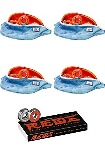 世界的に OJ Wheels 54mm OJ キーフレーム - バンパーバッグ コラボ オレンジ スケートボードホイール 無料のバンパーバッグ付き - - 87a ボーンベアリング付き - 8mm ボーンレッド 精密スケートボードベアリング - 2点セット B07LD8CP59, 太子町:f267fc43 --- mvd.ee