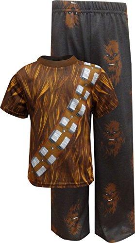 Star Wars Dress Like Chewbacca Pajama For Little Boys -