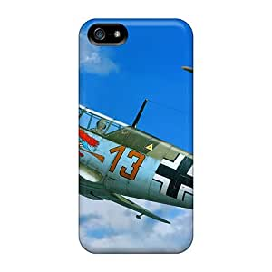 Tpu Shockproof/dirt-proof German Aircraft In Combat Cover Case For Iphone(5/5s)