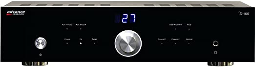 2 opinioni per Advance Acoustic X-i60 Home Wired Black audio amplifier- audio amplifiers (0.1%,