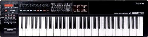 Roland 61-key MIDI Keyboard Controller, black (A-800PRO-R)