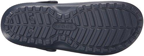 crocs Unisex-Erwachsene Classic Lined Clogs Blau (Navy/Charcoal)