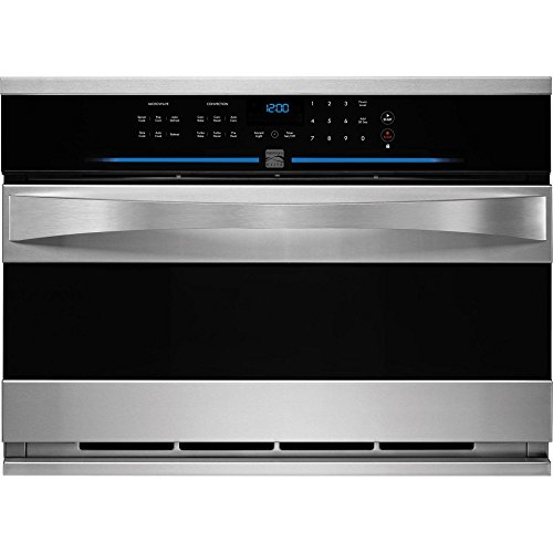 "Kenmore Elite 48883 30"" Built-in Convection Microwave in Sta"