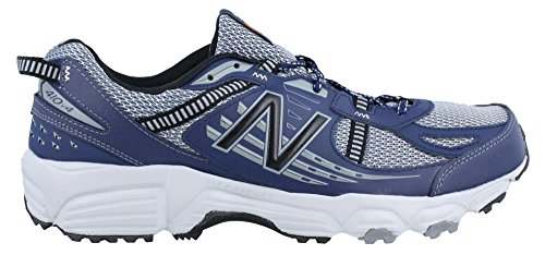 Men's New Balance, 410v4 Trail Running Shoes GREY BLUE 9.5 4E Review