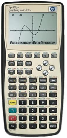 Hewlett Packard 49G Graphing Calculator