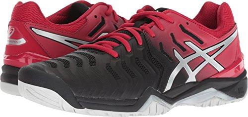 ution 7 Tennis Shoe, Black/Silver, Size 11.5 ()