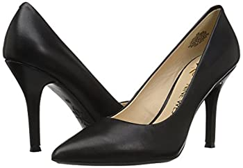 Nine West Women's Fifth9x Fifth Pointy Toe Pumps, Black Calf Leather - 8 B(m) Us 5