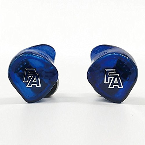 Fischer Amps 4BA driver / 3way design canal type earphone FA4E XB Blue