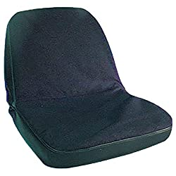 BSC3000-1 New John Deere Black Tie On Seat Cover 1