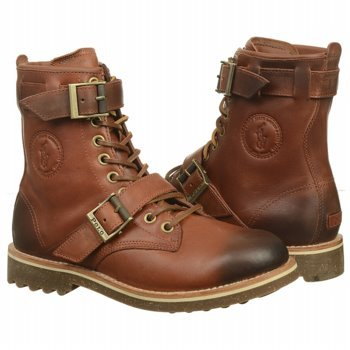 Amazon.com | POLO Ralph Lauren Maurice Boot (Syrup Brown/Heather ...