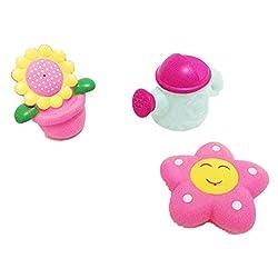 Rosiest 3PC Playing Water Children Kids Spray Bathing Pool Tub Animals Sounding Toys