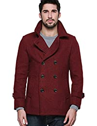Amazon.com: Reds - Wool & Blends / Jackets & Coats: Clothing ...