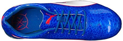 Puma Hombres Evospeed Electric 6 Zapatillas De Deporte Lapis Blue-puma White-fiery Coral