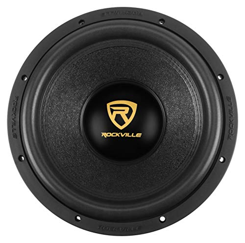 Rockville W12K9D4 12″ 4000w Car Audio Subwoofer Dual 4-Ohm Sub CEA Compliant