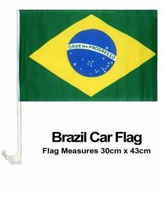Brasilien National Flagge für Cars von Brasilien