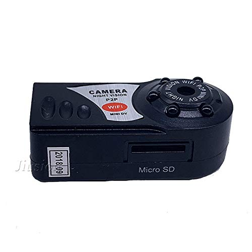 Amazon.com : q7 WiFi Mini Camera 5 Infrared Night Vision 480p Wireless IP p2p Camcorder with dv dvr Digital Audio Video Recorder Mirco cam : Camera & Photo