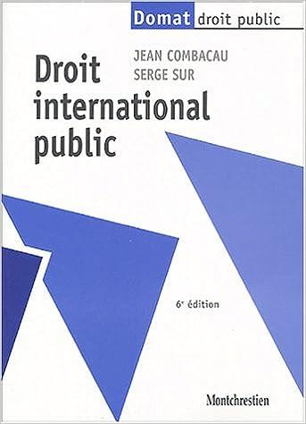 Droit international public epub pdf