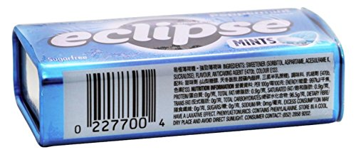 Eclipse Sugarfree Mints Peppermint, 1.2-Ounce Tins (Pack of 16) by Eclipse Gum (Image #1)