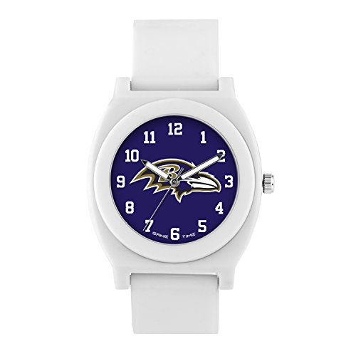 NFL Baltimore Ravens Mens Fan Series Wrist Watch, White, One Size ()