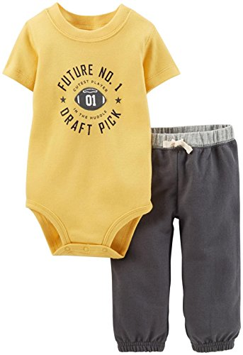 Carter's Baby Boys' 2 Piece Layette Set (Baby) - Draft Pick - 6 Months