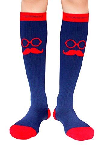 Moustache Travel Socks