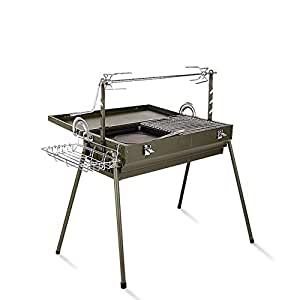 Amazon.com: ROBDAE BBQ Charcoal Grill Barbecue Charcoal ...