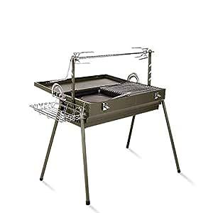 Amazon.com: ROBDAE BBQ Charcoal Grill Barbecue Charcoal ...