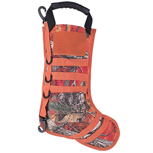(Tactical Stocking. Ruck Up Hanging Christmas Stockings by Osage River)