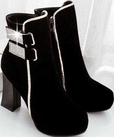 Laruise Women's Dr Martens Boot Black do83u