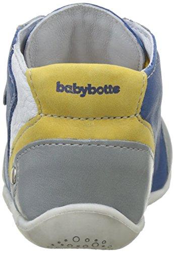 babybotte Falco - Zapatos de primeros pasos Bebé-Niñas Azul (Bleu)