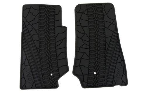 2007-2013 Jeep Wrangler 2 Door Slush Mats-Front Set of 2