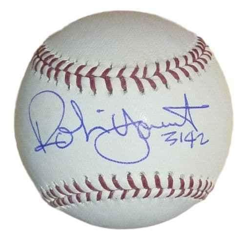 Robin Yount Signed Baseball - OML 3142 13958 - JSA Certified - Autographed ()