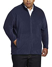 Men's Big & Tall Full-Zip Polar Fleece Jacket fit by DXL